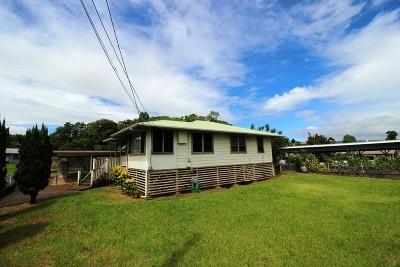 Hilo Single Family Home For Sale: 120 Lanihuli St