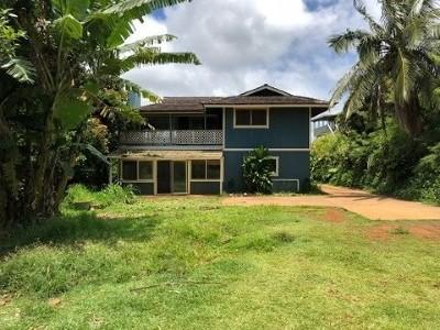 Kauai County Single Family Home For Sale: 3888 Gallo Pl