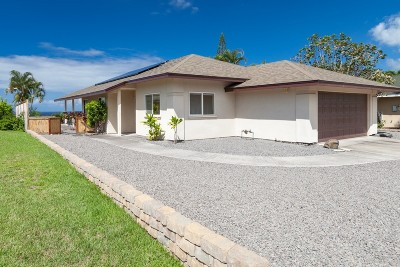 Kailua-kona Single Family Home For Sale: 77-6552 Hoolaupai St