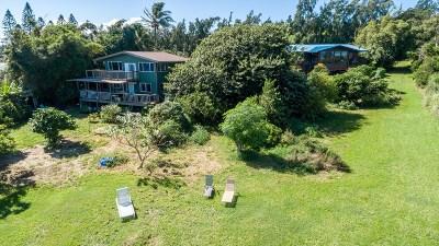 Hawi, Kapaau Single Family Home For Sale: 55-256-A Hoea Rd #2