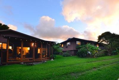 Hawi, Kapaau Single Family Home For Sale: 55-469 Keawe Iki Pl