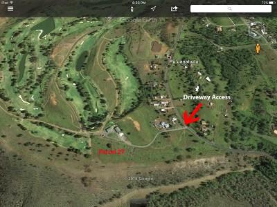 Kailua-Kona Residential Lots & Land For Sale: 71-1580 Mamalahoa Hwy