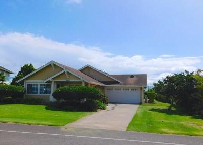 Waimea, Kamuela Single Family Home For Sale: 67-1253 Kamaloo St