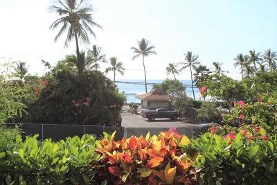 Kailua-Kona Condo/Townhouse For Sale: 75-5919 Alii Dr #V2