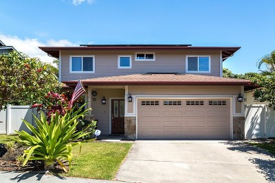 Kailua-Kona Single Family Home For Sale: 75-6107 Paulehia St