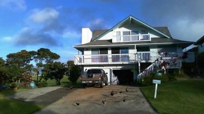 Princeville Single Family Home Contingent: 3875 Kamehameha Rd #5