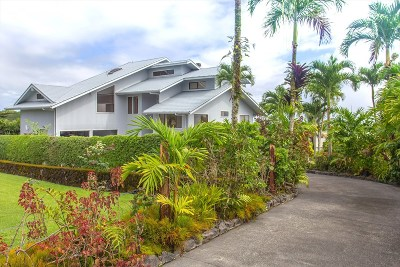 Hilo Single Family Home For Sale: 594 Kaanini Pl