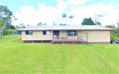 Hilo Single Family Home For Sale: 25-3436 Opalipali St