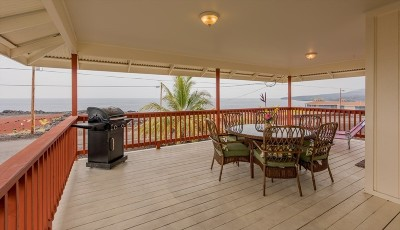 Captain Cook Single Family Home For Sale: 88-180 Kai Ave