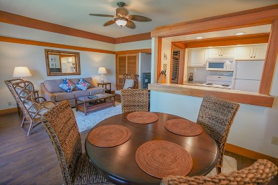 Kauai County Condo/Townhouse For Sale: 2221 Poipu Rd #411