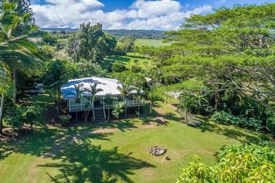 Hawi, Kapaau Single Family Home For Sale: 52-4608 Akoni Pule Hwy