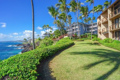 Kauai County Condo/Townhouse For Sale: 1677 Pee Rd #B2