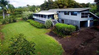Holualoa Single Family Home For Sale: 75-5533-A Kealia St #B