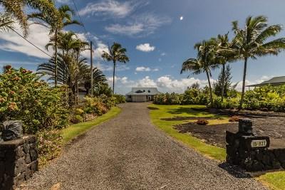 Hawaii County Single Family Home For Sale: 15-927 Paradise Ala Kai Dr