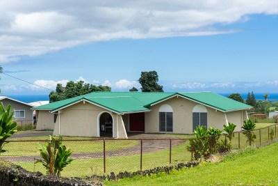 Hilo Single Family Home For Sale: 2087 Ainaola Dr
