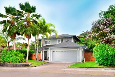 Kailua-Kona Single Family Home For Sale: 75-6143 Hoomama St