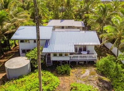 Hawaii County Single Family Home For Sale: 15-1049 Ala Heiau Rd
