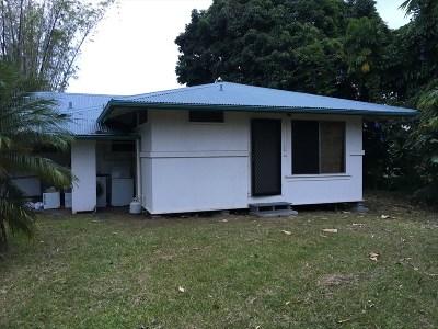 Hilo Single Family Home For Sale: 143 W Kawailani St