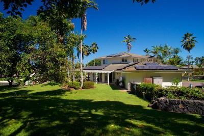 Kailua-Kona Single Family Home For Sale: 75-397 Hualalai Rd
