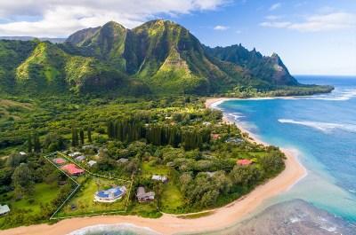 Kauai County Single Family Home For Sale: 5-7534 Kuhio Hwy