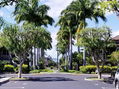 Hawaii County Condo/Townhouse For Sale: 75-6025 Alii Dr #E102