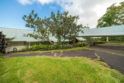 Holualoa Single Family Home For Sale: 78-6477 Mamalahoa Hwy