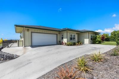 Kailua-Kona Single Family Home For Sale: 73-1205 Ikenanani Pl