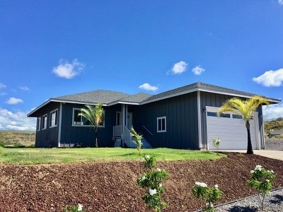 Hawaii County Single Family Home For Sale: 68-3676 Eleele St
