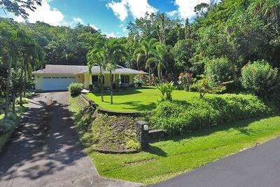 Hawaii County Single Family Home For Sale: 15-2756 Popaa St