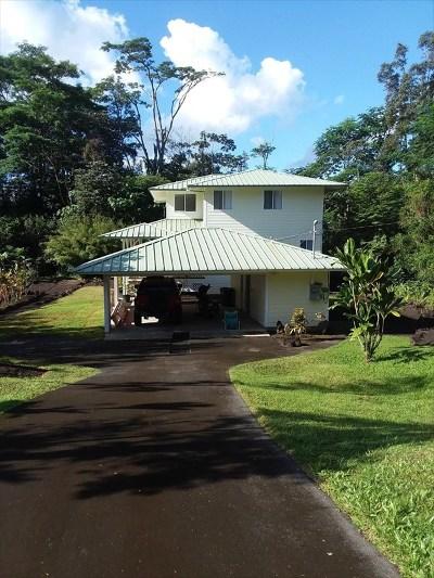 Hawaii County Single Family Home For Sale: 15-2788 Aweoweo St