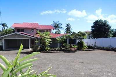 Hilo Single Family Home For Sale: 80-A Kaiwiki Rd