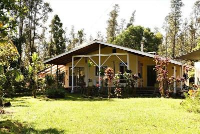 Hawaii County Single Family Home For Sale: 16-2096 Hopue Rd