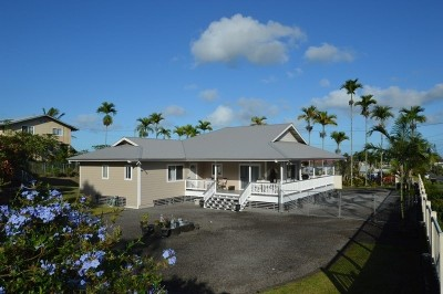 Hilo Single Family Home For Sale: 754 Haihai St