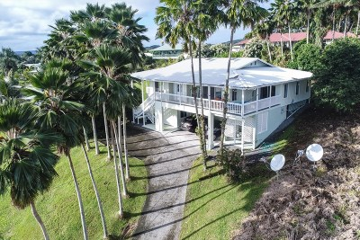 Hilo Single Family Home For Sale: 755 Wainaku St