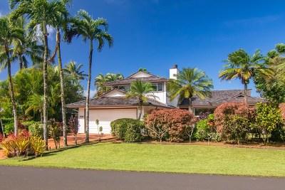 Princeville Single Family Home For Sale: 5332 Honoiki Rd