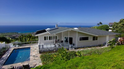 Kailua-Kona HI Single Family Home For Sale: $1,095,000