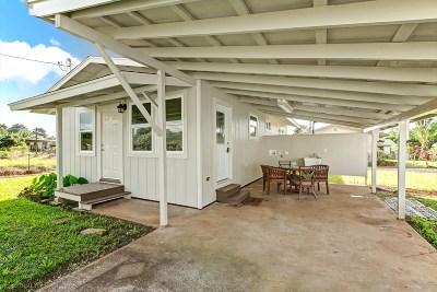 Koloa Single Family Home For Sale: 4445 Piiwai Pl