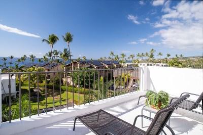 Kailua-Kona Condo/Townhouse For Sale: 75-6040 Alii Dr #717
