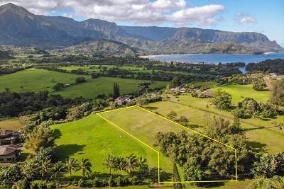 Kauai County Residential Lots & Land For Sale: 4901 Hanalei Plantation R #Lot 9 Un