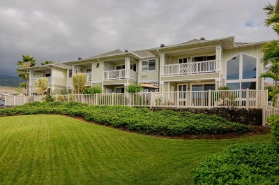 Hawaii County Condo/Townhouse For Sale: 75-6009 Alii Dr #R3