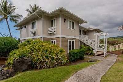Hawaii County Condo/Townhouse For Sale: 75-6009 Alii Dr #V1