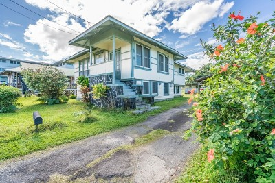 Hilo Single Family Home For Sale: 370 Ululani St