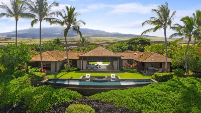 Hualalai Resort Single Family Home For Sale: 72-395 Kaupulehu Dr
