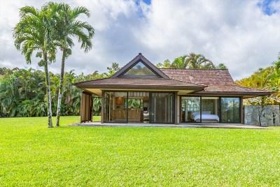 Kauai County Single Family Home For Sale: 5357 Kapaka St #2