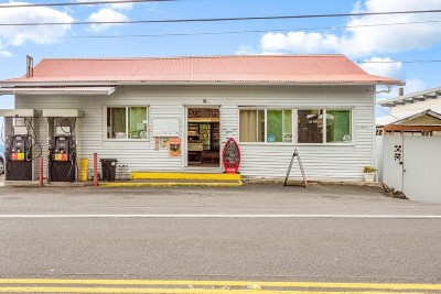 Hawaii County Business Opportunity For Sale: 84-4811 Hawaii Belt Rd