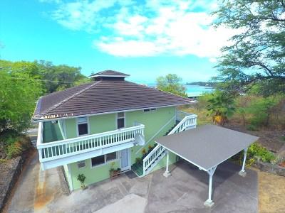 Kailua-Kona Single Family Home For Sale: 77-6347 Alii Dr