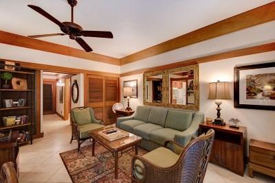Kauai County Condo/Townhouse For Sale: 2221 Poipu Rd #442
