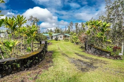 Keaau HI Single Family Home For Sale: $329,000