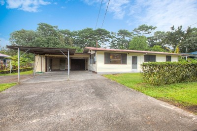 Pahoa HI Single Family Home For Sale: $295,000