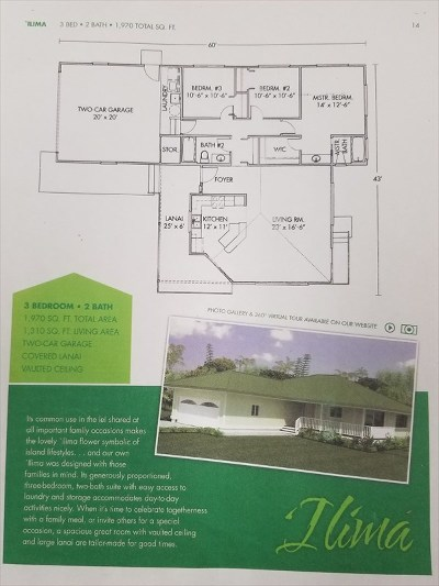 Hawaii County Single Family Home For Sale: 15-2796 Moi St
